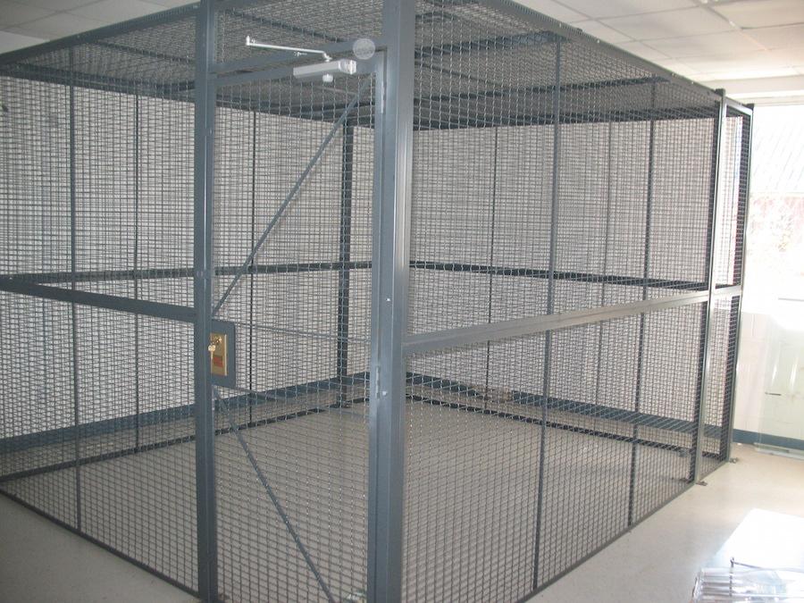 Modular Bldg Mezzanines Storage Solutions Incstorage & Bike Cage Storage - Listitdallas
